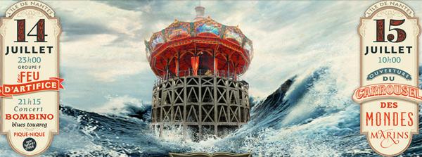 le carrousel des mondes marins bient t inaugur h tels b. Black Bedroom Furniture Sets. Home Design Ideas